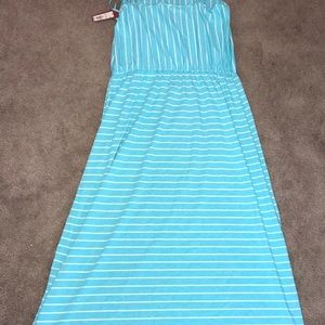 Merona Light Blue Spaghetti Strap Sundress